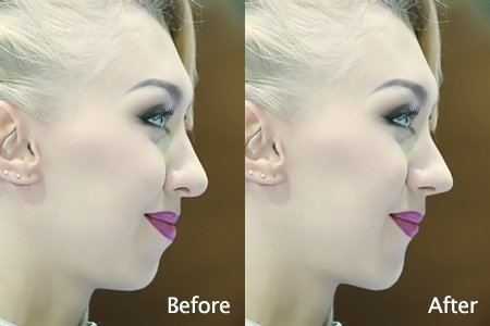 How to Reshape Face in PT Photo Editor