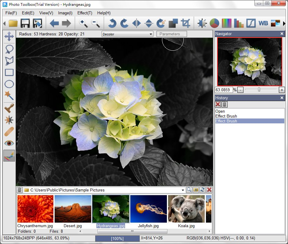 Click to view Photo Toolbox screenshots