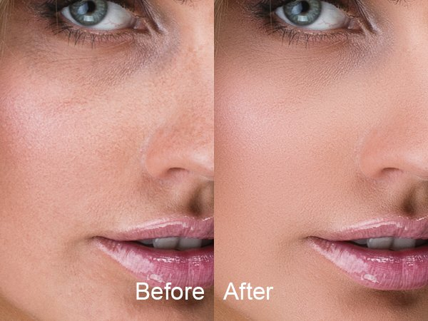 SkinFiner Effect Compare