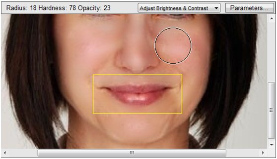 image More efficient lip gloss removal